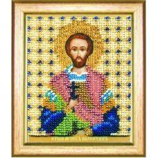 Б-1180 Икона св. мученика Валентина. Набор для вышивки бисером Чаривна Мить