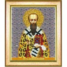 Б-1182 Икона святителя Василия Великого. Набор для вышивки бисером Чаривна Мить