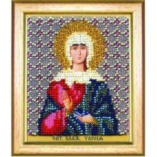 Б-1190 Икона св. блаженной Таисии. Набор для вышивки бисером Чаривна Мить