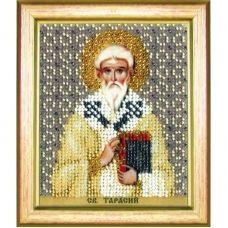 Б-1193 Икона св.Тарасия епископа Константинопольского. Набор для вышивки бисером Чаривна Мить