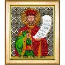 Б-1194 Икона св. царя пророка Давида. Набор для вышивки бисером Чаривна Мить