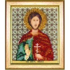Б-1197 Икона св. мученика Инны. Набор для вышивки бисером Чаривна Мить