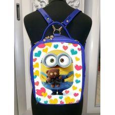 М1С21 (цвет) Сумка-рюкзак для вышивки бисером. ТМ ЮМА