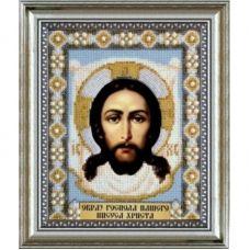 Б-1003 Иисус Христос. Набор для вышивки бисером Чаривна Мить