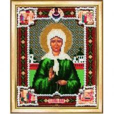 Б-1012 Икона Св. Блаженной Матроны. Набор для вышивки бисером Чаривна Мить