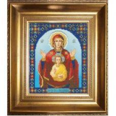 Б-1074 Икона БМ Знамение. Набор для вышивки бисером Чаривна Мить