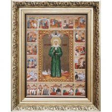 Б-1015 Икона Святой Блаженной Матроны Московской. Набор для вышивки бисером Чаривна Мить