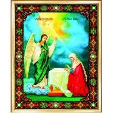 Б-1028 Икона Благовещение Пресвятой Богородицы. Набор для вышивки бисером Чаривна Мить