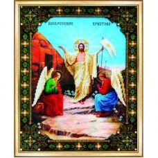 Б-1057 Воскресение Христово. Набор для вышивки бисером Чаривна Мить.