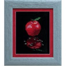 А-0218 Отражение яблоко. Набор для вышивки в смешанной технике ТМ Чаривна Мить