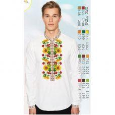 ВА-15102 Заготовка сорочки мужская БисерАрт