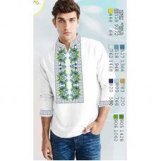 ВА-15103 Заготовка сорочки мужская БисерАрт