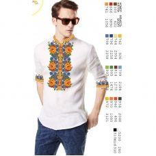 ВА-15106 Заготовка сорочки мужская БисерАрт
