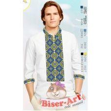 ВА-1518 Заготовка сорочки мужская БисерАрт