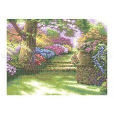 10-204 (40*60) Дорожка в сад. Схема для вышивки бисером Бисерок
