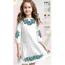 ВА-1603 Заготовка детского платья под вышивку БисерАрт