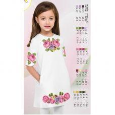 ВА-1615 Заготовка детского платья под вышивку БисерАрт