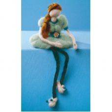 В-022 Кукла. Набор для валяния ТМ Чаривна Мить