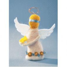 В-027 Солнечный ангел. Набор для валяния ТМ Чаривна Мить