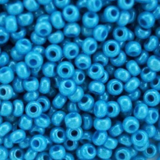 16165 Темно-голубой перламутровый, непрозрачный Бисер Preciosa