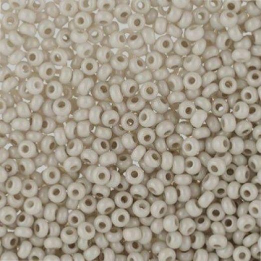 16249 светло-серый натуральный, непрозрачный Бисер Preciosa