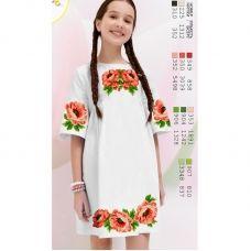 ВА-1627 Заготовка детского платья под вышивку БисерАрт