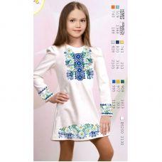 ВА-1629 Заготовка детского платья под вышивку БисерАрт