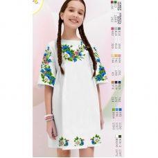 ВА-1633 Заготовка детского платья под вышивку БисерАрт