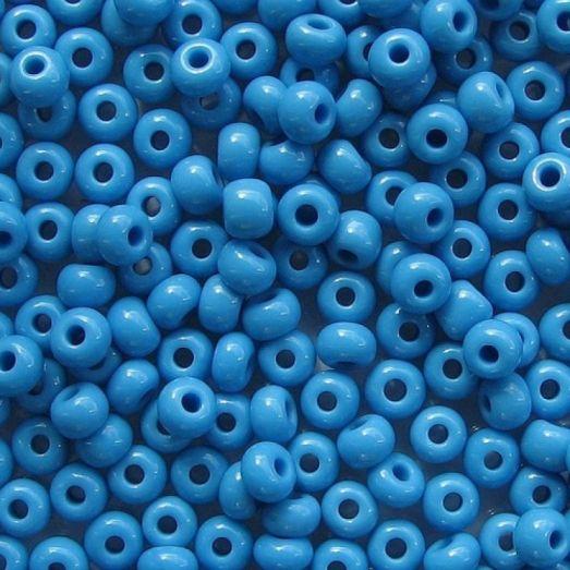 16365 Голубой натуральный, непрозрачный Бисер Preciosa