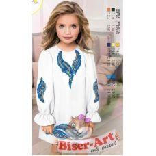 ВА-1640 Заготовка детского платья под вышивку БисерАрт