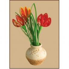 КВ-012 Тюльпаны. Набор для квилинга ТМ Чаривна Мить
