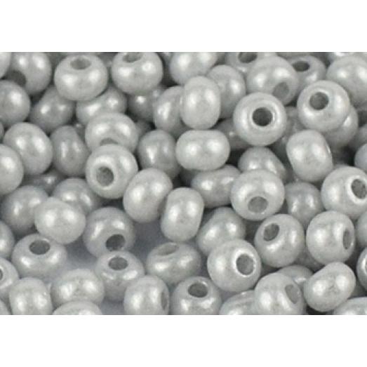 16708 Светло серый жемчужный, непрозрачный Бисер Preciosa