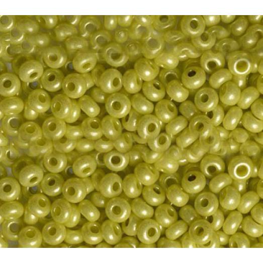 16786 Оливковый натуральный, непрозрчный Бисер Preciosa