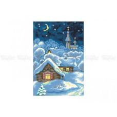10-319 (30*40) Звездная ночь. Схема для вышивки бисером Бисерок