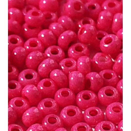 16А77 Бисер Preciosa розовый непрозрачный