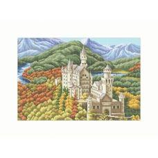 10-229 (40*60) Замок. Схема для вышивки бисером Бисерок
