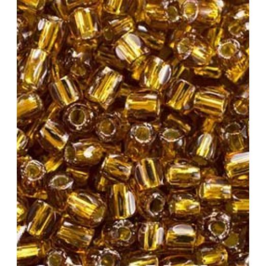 17090 Рубка Preciosa коричневая, серебряная линия внутри