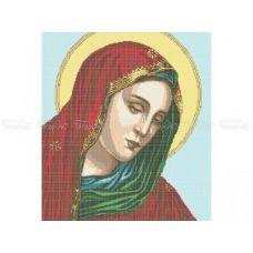 20-209 (40*60) Мария. Схема для вышивки бисером Бисерок