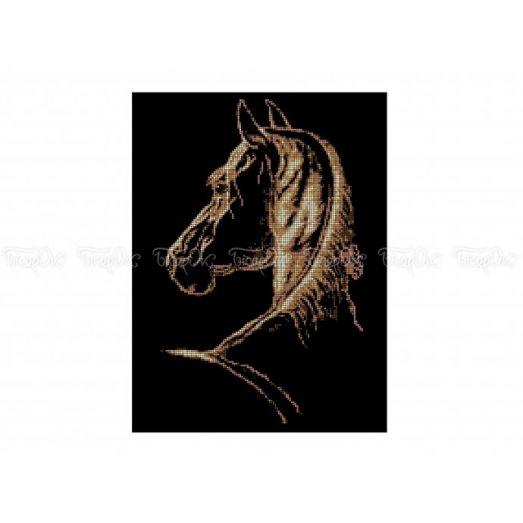 50-321 (30*40) Конь фаворит. Схема для вышивки бисером Бисерок