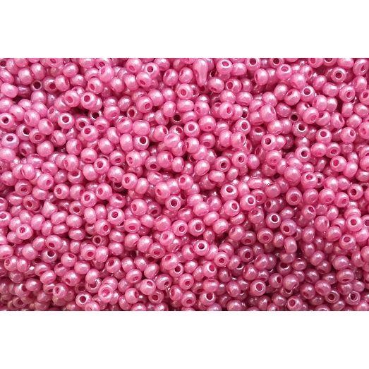 17798 Тускло-розовый жемчужный, непрозрачный Бисер Preciosa