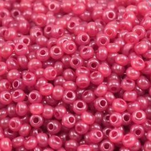 17998 Малиновый (розовый) с глянцевым блеском, непрозрачный Бисер Preciosa