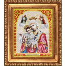 И-4005 Пресвятая Богородица Достойно есть. Схема для вышивки бисером Благовест