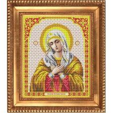 И-4006 Пресвятая Богородица Умиление. Схема для вышивки бисером Благовест