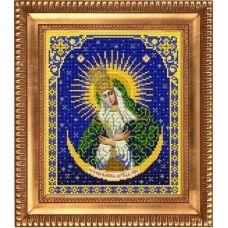 И-4008 Пресвятая Богородица Остробрамская. Схема для вышивки бисером Благовест