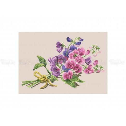 30-305 (30*40) Орхидеи. Схема для вышивки бисером Бисерок