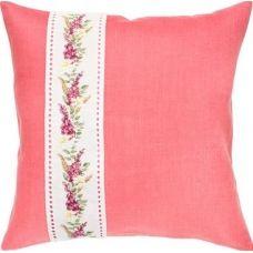 PB124 Цветы. Набор для вышивки подушки нитками. Luca-s