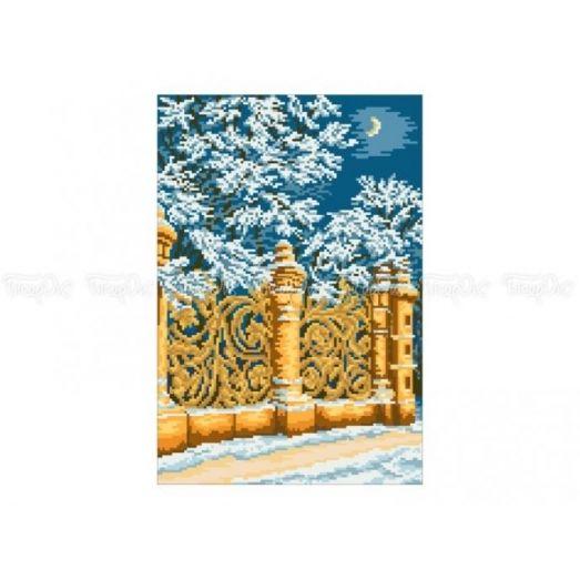 10-322 (30*40) Золотые ворота. Схема для вышивки бисером Бисерок
