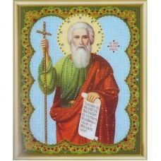 КСИ-053 Икона апостола Андрея Первозванного. Набор для изготовления иконы со стразами ТМ Чаривна Мить