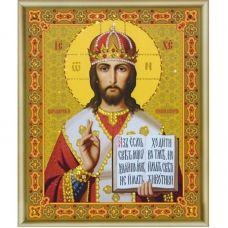 КСИ-025 Икона Господь Вседержитель. Набор для изготовления иконы со стразами ТМ Чаривна Мить