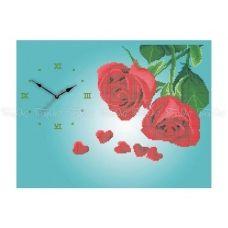 30-358 (30*40) Розы. Схема для вышивки бисером Бисерок